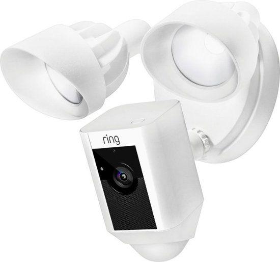 Caméra de surveillance HD avec projecteurs intégrés Ring Floodlight Cam