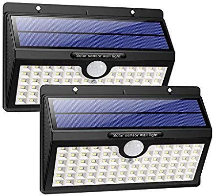 Lot de 2 lampes solaires d'extérieur LED Hetp (vendeur tiers)