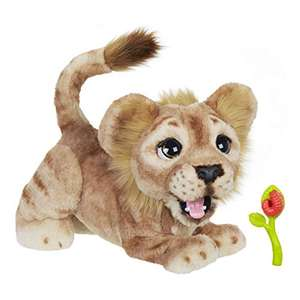Peluche interractive Furreal le Roi Lion