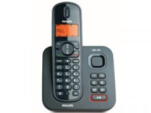 Téléphone PHILIPS sans fil avec répondeur CD1551B - Reconditionné