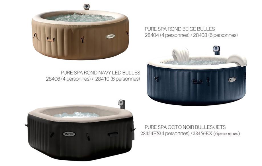 PureSpa Bulles Intex - 4 places (piscine-center.net)
