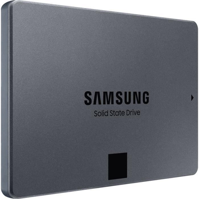 "SSD interne 2.5"" Samsung 860 QVO - 1 To, QLC"