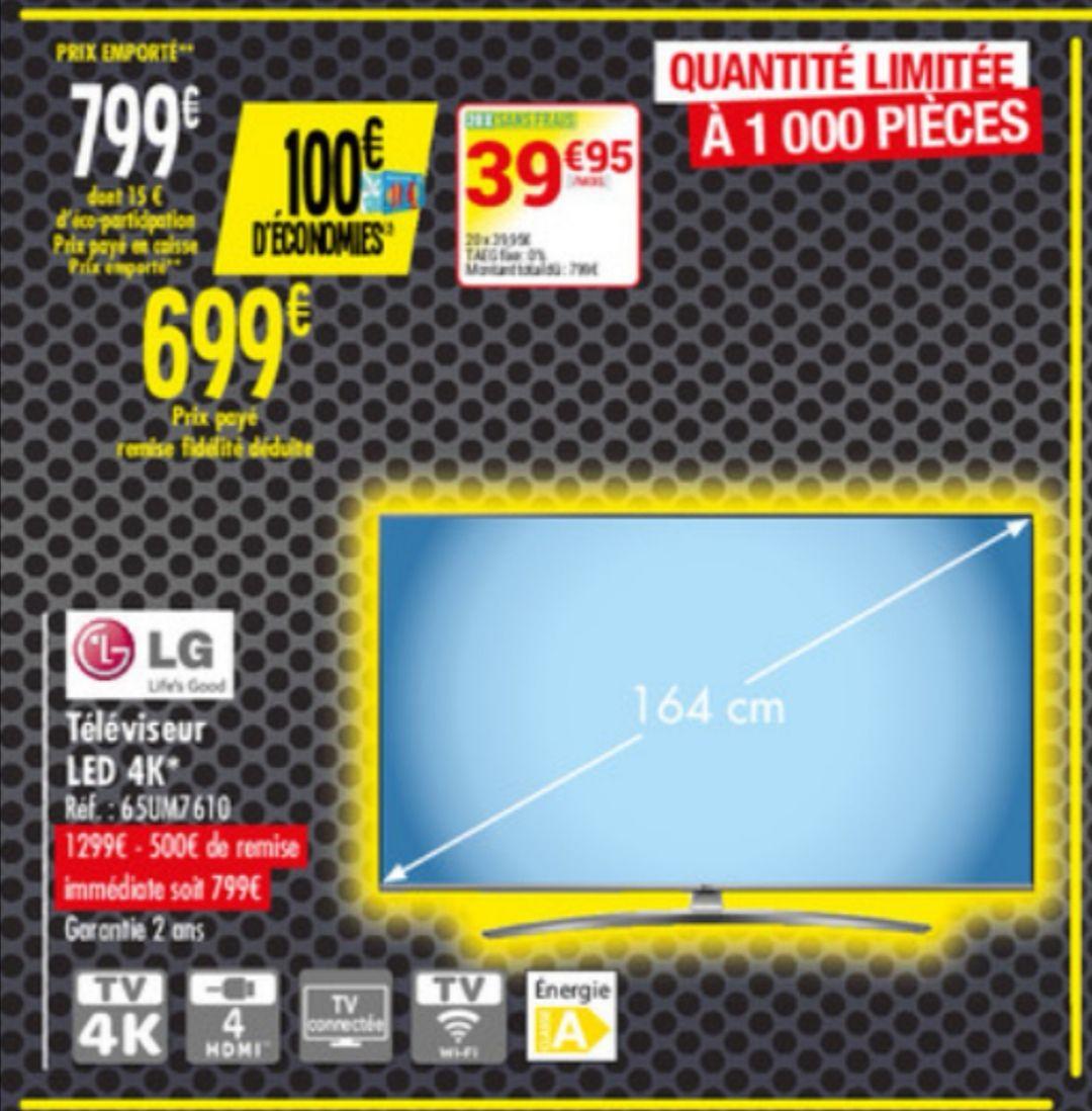 """TV 65"""" LG 65SUM7610 - 4K"""