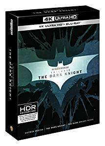 Blu-Ray 4K Trilogie Dark Knight