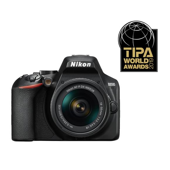 Appareil Photo Nikon Kit D3500 + AF-P DX 18-55 VR (Vendeur Tiers)