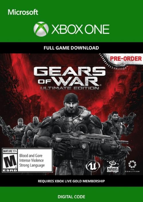 Gears of War: Ultimate Edition sur Xbox One (dématérialisé)