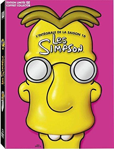 Coffret DVD Les Simpson - Saison 16