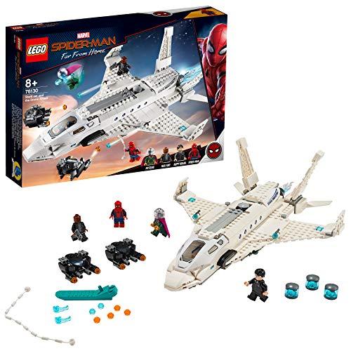 Jouet Lego Marvel Super Heroes - L'attaque de Spider Man avec le jet de Stark (76130)