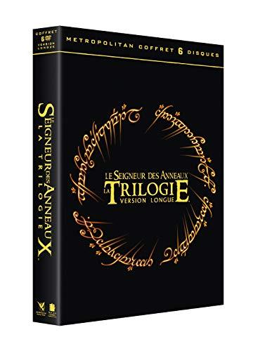 Coffret DVD - Trilogie Le Seigneur des Anneaux (Version longue)