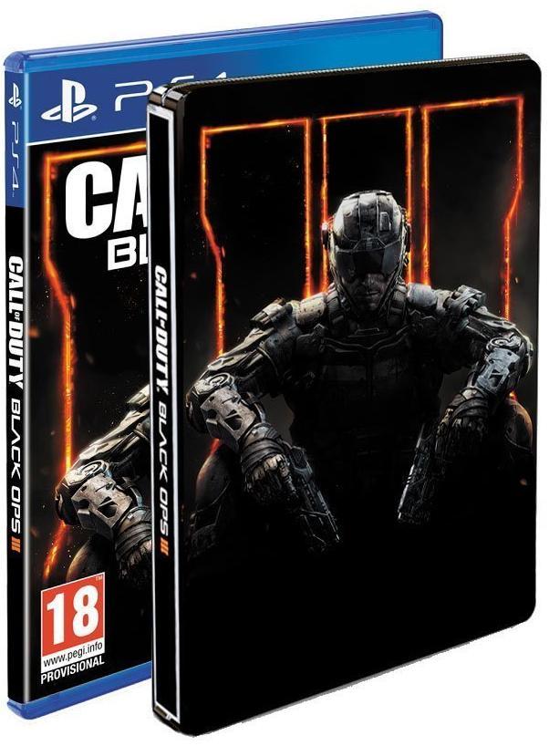 Jeu Call of Duty : Black Ops III + Steelbook sur PS4 et Xbox One