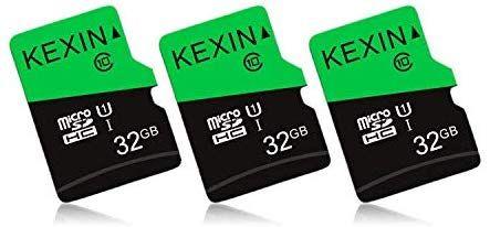 Lot de 3 Cartes Mémoire MicroSDHC - 32 Go,Classe 10 (vendeur tiers)