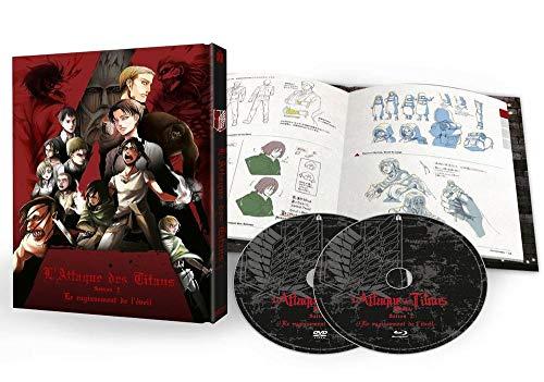 Blu-ray + DVD L'Attaque des Titans - Film 3 : Le Rugissement de l'Éveil, Édition Collector