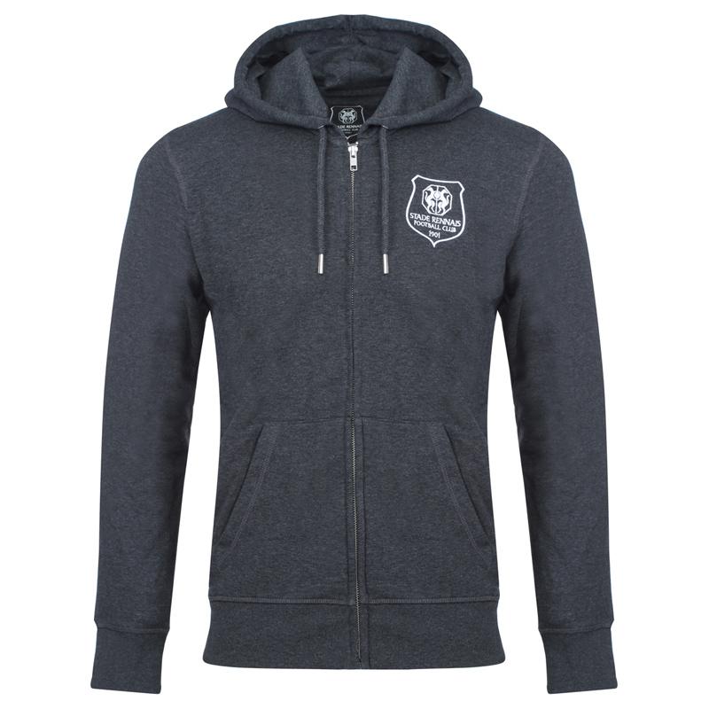 Veste en sweat zippée (Stade Rennais Football Club Store)