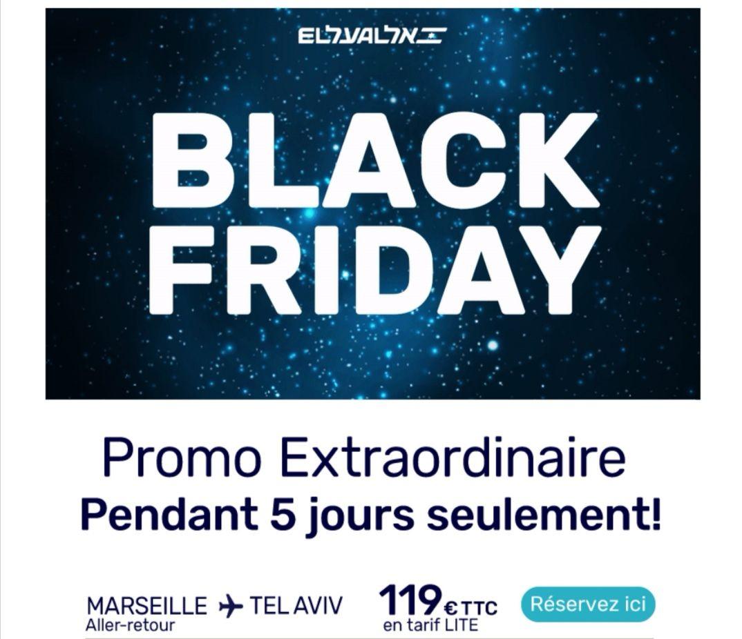 Vol Marseille <-> Tel Aviv à partir de 119€ (elal.com)
