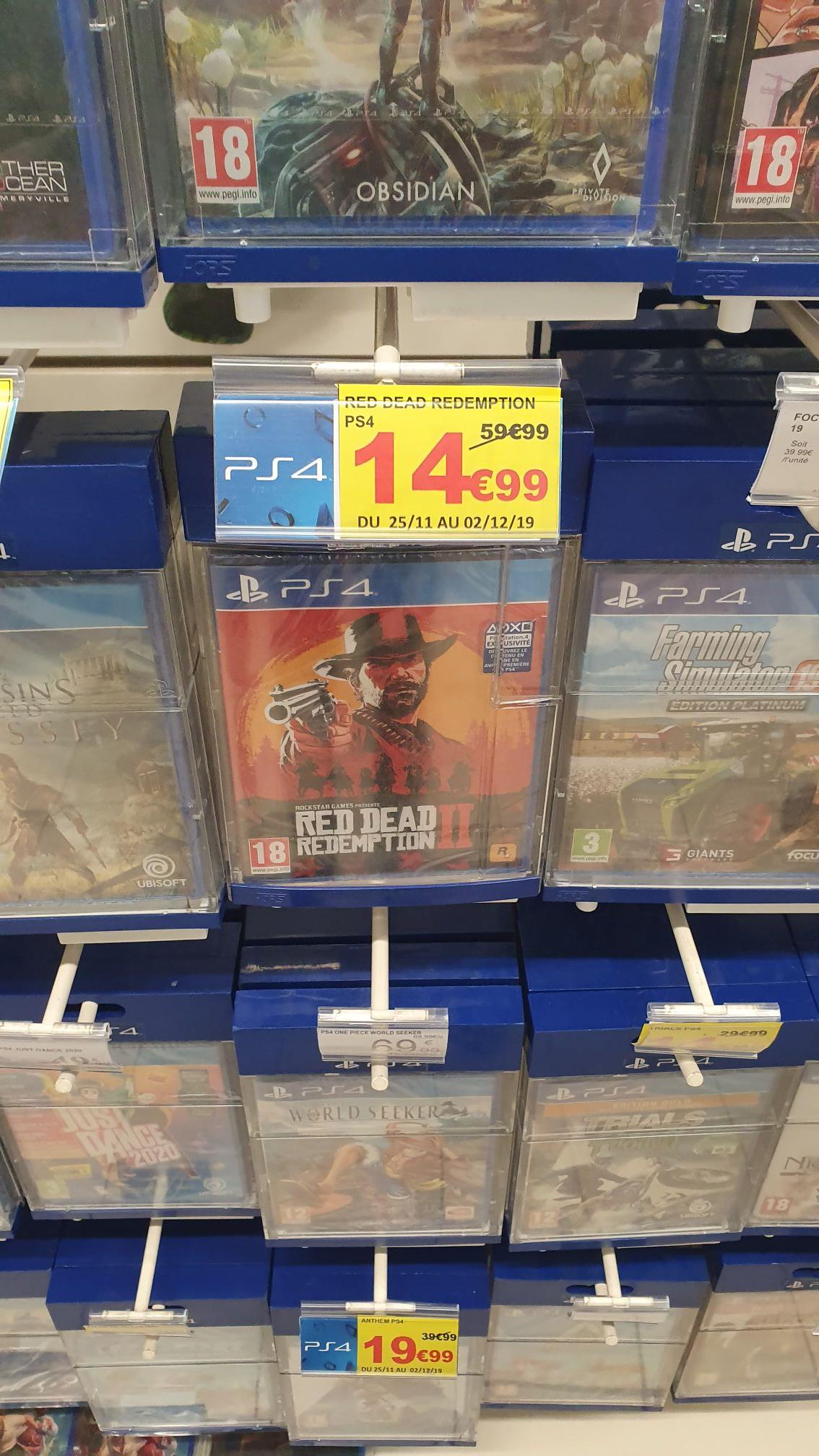 Red Dead Redemption 2 sur PS4 et Xbox One - Marsac (24)