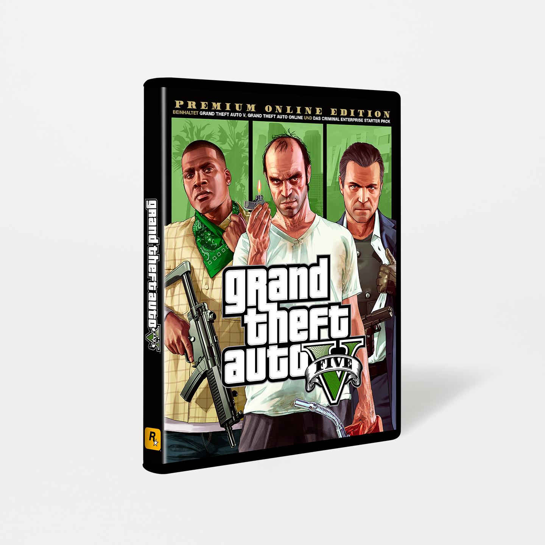 Grand Theft Auto V: Édition Premium Online sur PC (Dématérialisé - Rockstar)