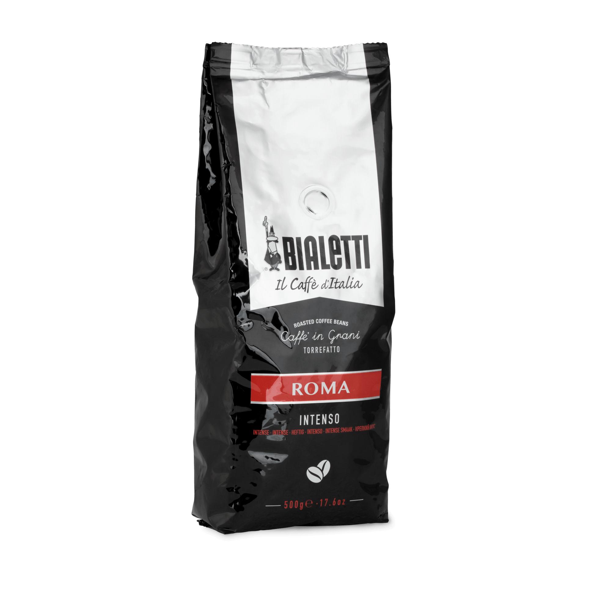 Café en grain bialetti mélange romain - 500G (bialetti.it)