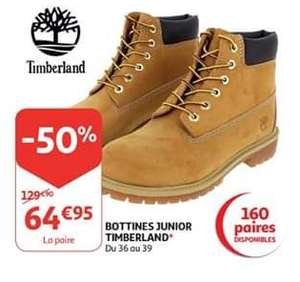 Bottines Junior Timberland (Frontaliers Luxembourg)
