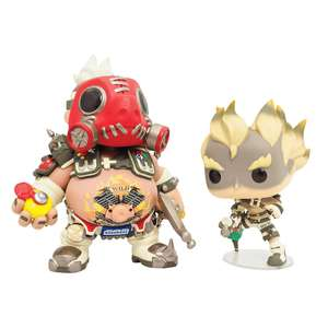 Lot de 2 Figurines Funko POP Vinyl Chopper et Chacal Overwatch