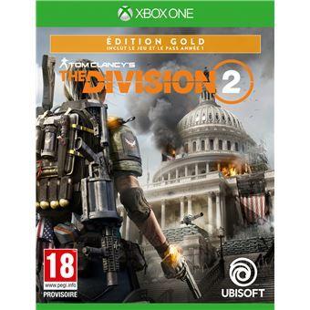 Tom Clancy's The Division 2 - Édition Gold sur Xbox One (frontaliers Belgique)