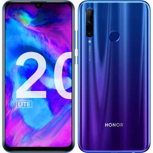 "Smartphone 6.2"" Honor 20 Lite (Bleu) - Full HD+, Kirin 710, RAM 4 Go, 128 Go (Via ODR de 50€)"