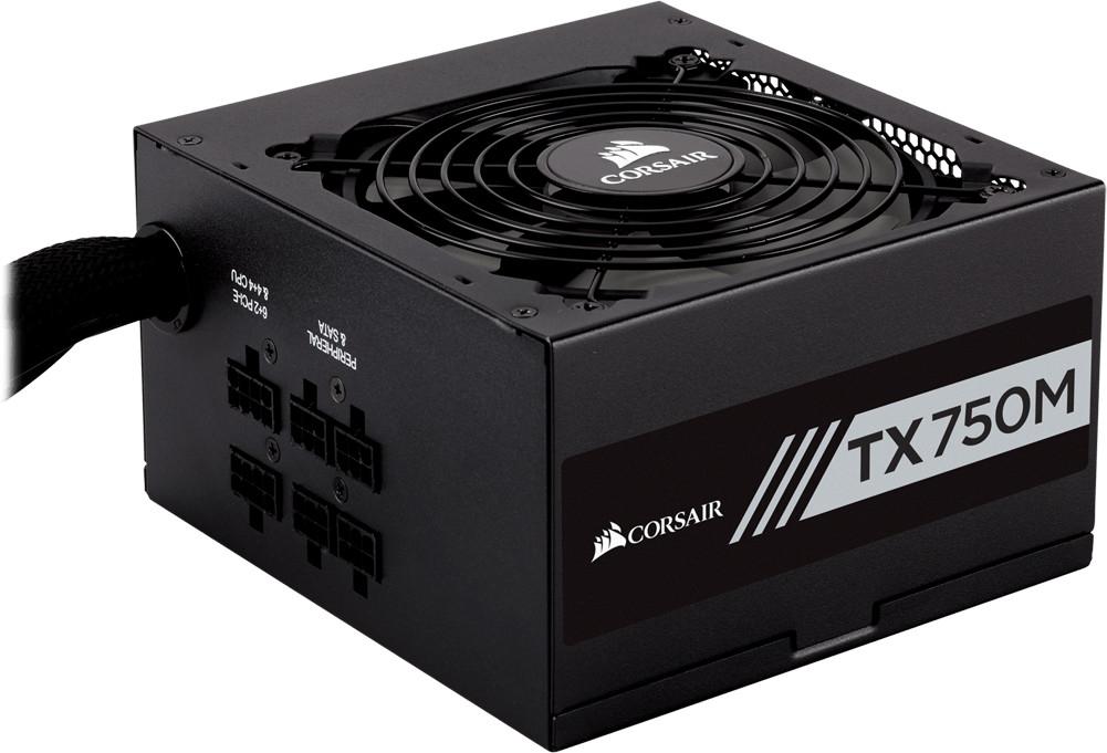 Bloc d'alimentation PC Corsair TX750M - 750 W 80 Plus Gold