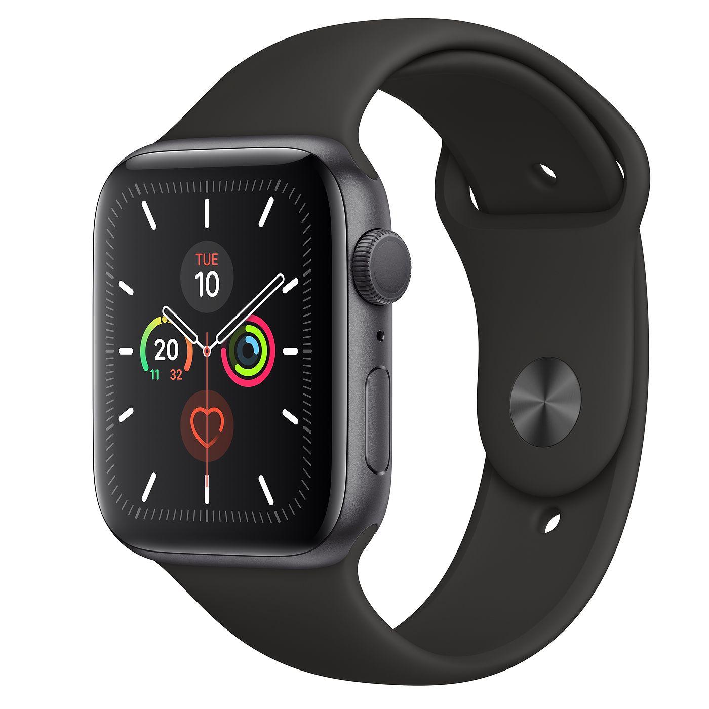 Montre connectée Apple Watch Series 5 GPS 44mm - Space Grey