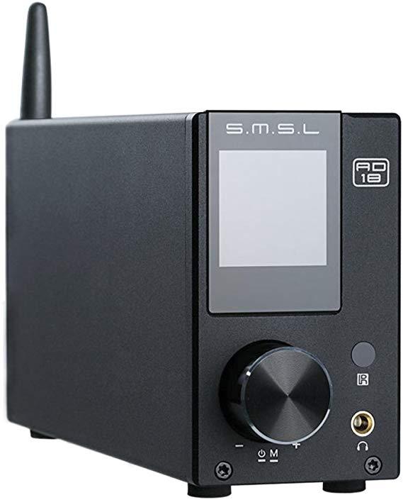 Amplificateur audio numérique SMSL AD18 FDA - Bluetooth, 2x80 W - V 3.1