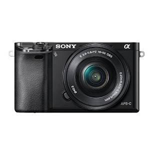 Appareil photo hybride Sony A6000 ILCE6000LB.CEC + Objectif 16-50 mm rétractable