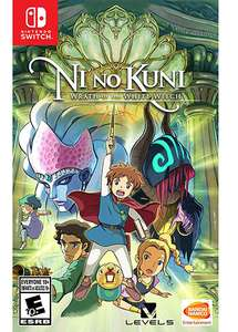Ni no Kuni Wrath of the White Witch Remastered sur Nintendo Switch