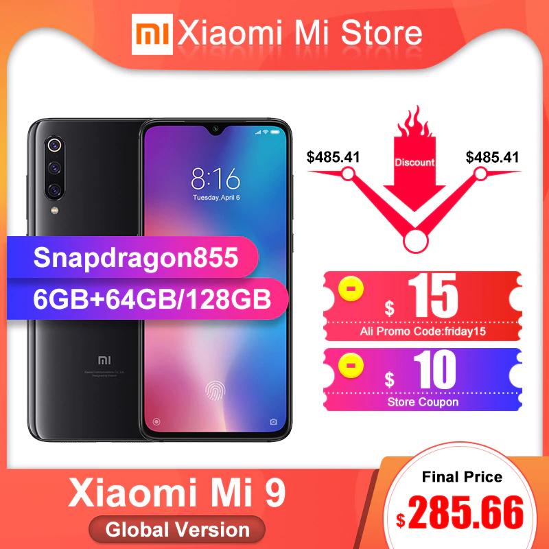 """Smartphone 6,39"""" Xiaomi Mi 9 - 64 Go, Noir"""