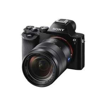 Pack Appareil photo hybride Sony Alpha A7 + Objectif 28-70 mm f/3.5-5.6 + Housse + Carte mémoire SD 16 Go