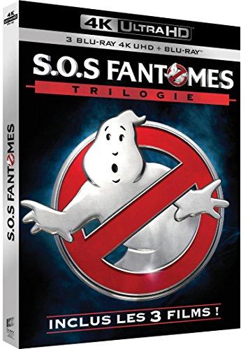 Coffret 4K UHD SOS Fantômes Trilogie