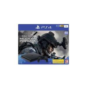 Pack Console Sony PS4 Slim 1 To Noir + Call of Duty Modern Warfare (Frontaliers Suisse)