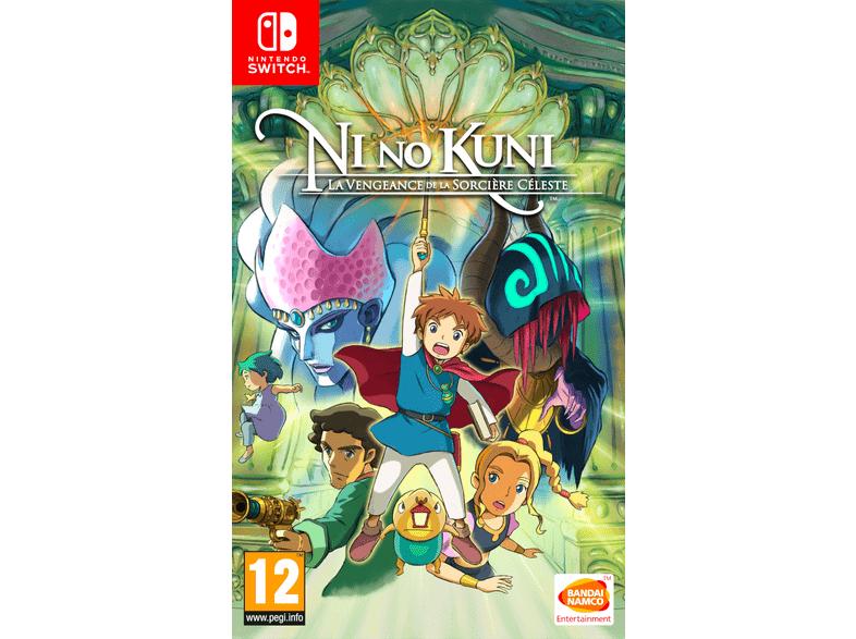 Ni No Kuni: Vengeance De La Sorcière Céleste Remastered sur Nintendo Switch (Frontalier Belgique)