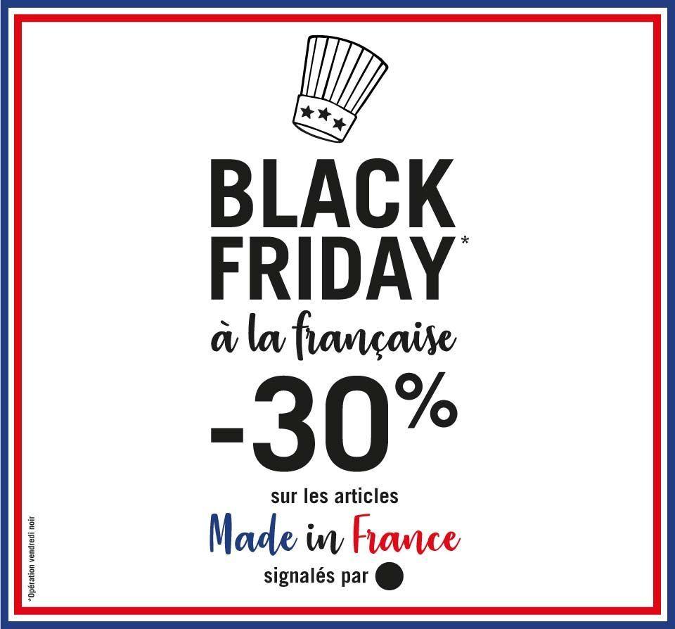 -30% sur une sélection d'articles Made in France