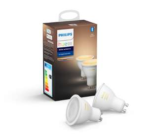 Lot de 6 ampoules Philips Hue Gu10 White Ambiance