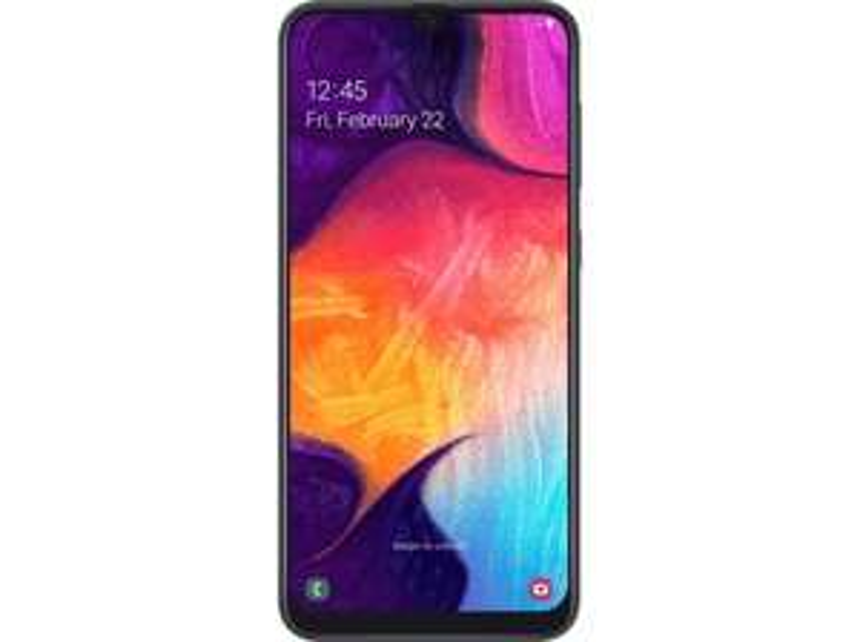 "Smartphone 6.4"" Samsung Galaxy A50 -128 GB, Noir (Frontaliers suisse)"