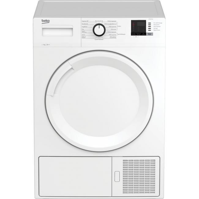 Sèche-linge Beko SLMCD072W - Pompe à chaleur, 7kgs, A++, Blanc