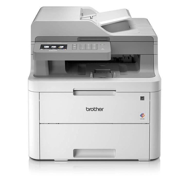 Imprimante BROTHER DCP-L3550CDW- Multifonction laser couleur - Ethernet - Wi-Fi