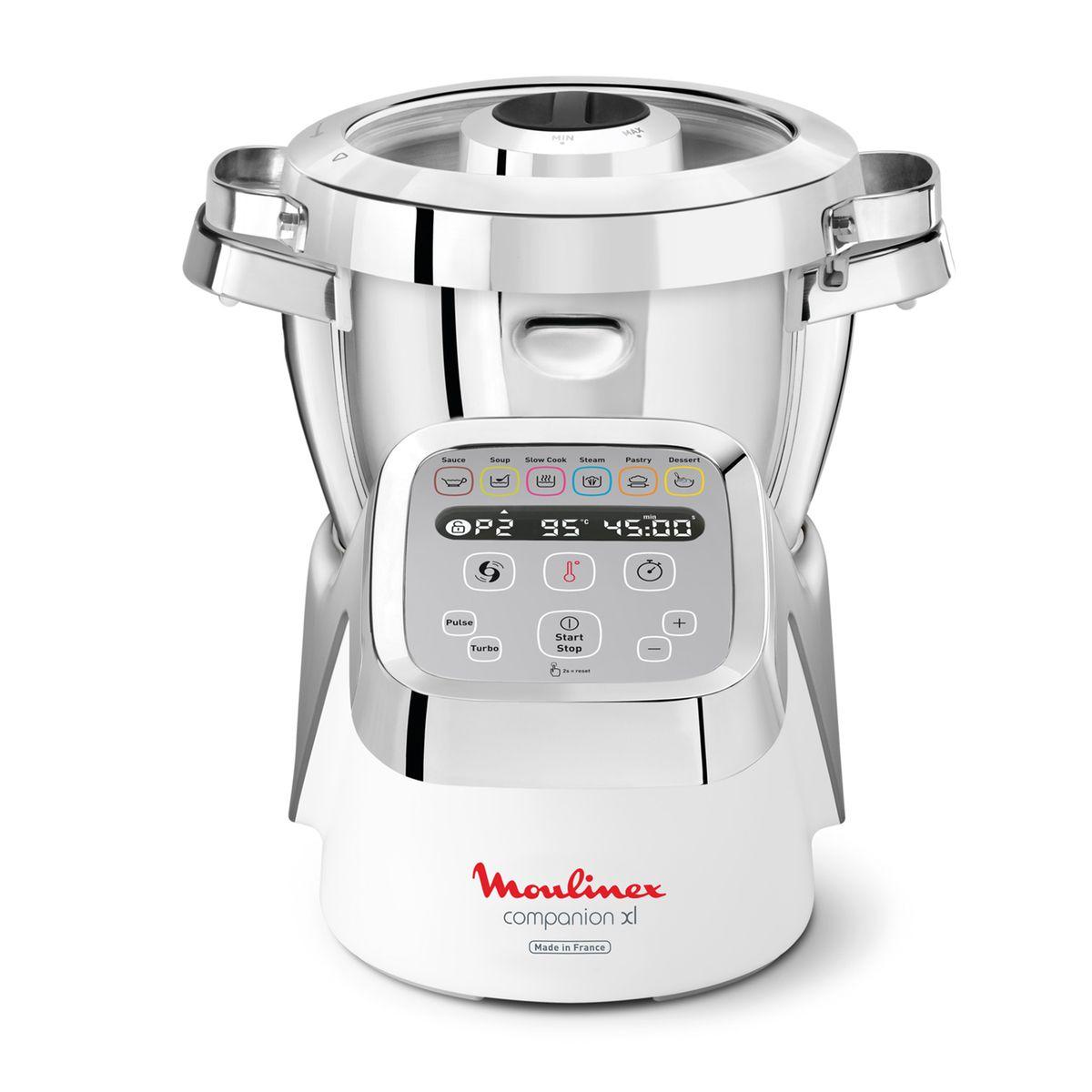 Robot cuiseur Companion XL 2 accessoires YY3979FG + coupe legumes