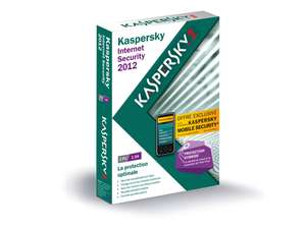 Kaspersky Internet Security 2012 version 2 postes + Mobile Security 1 an de mise à jour