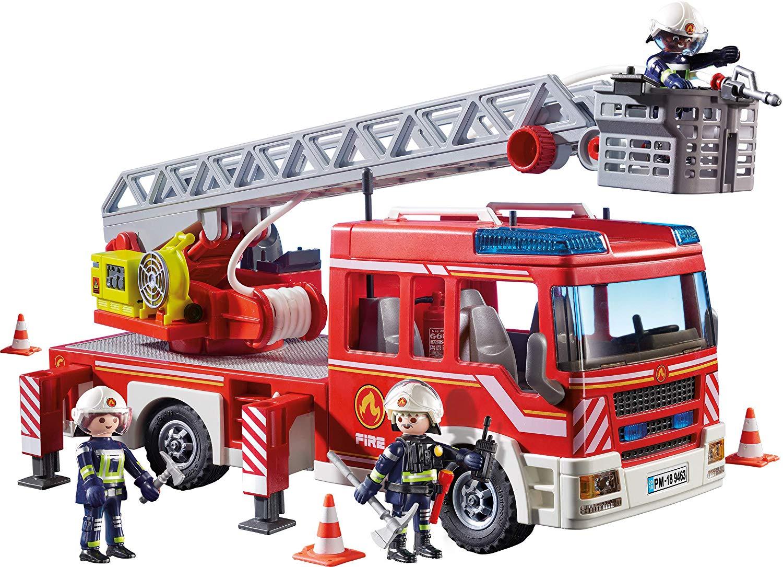 Jouet Playmobil Camion de pompiers