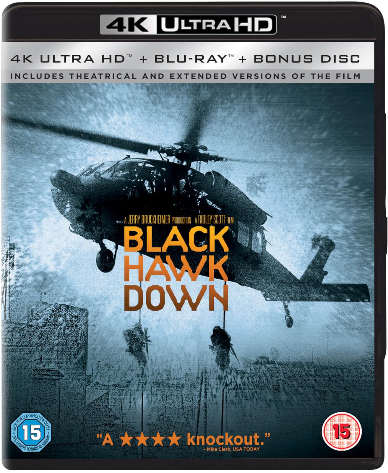 Blu-ray UHD 4K ° Blu-ray + Bonus - Black hawk down (La Chute du faucon noir)