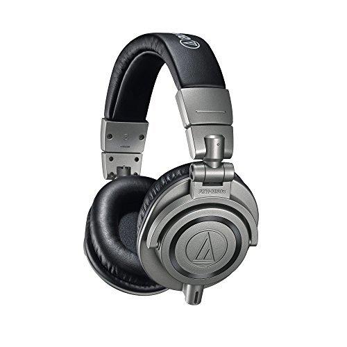 Casque fermé de monitoring Audio-Technica ATH-M50XGM (version gris métallique)