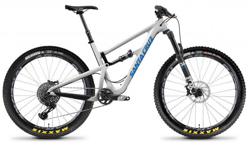 Vélo VTT Santa Cruz HIGHTOWER C S 27+ (Carbone, Eagle GX/Fox 36) - 2018 (M)