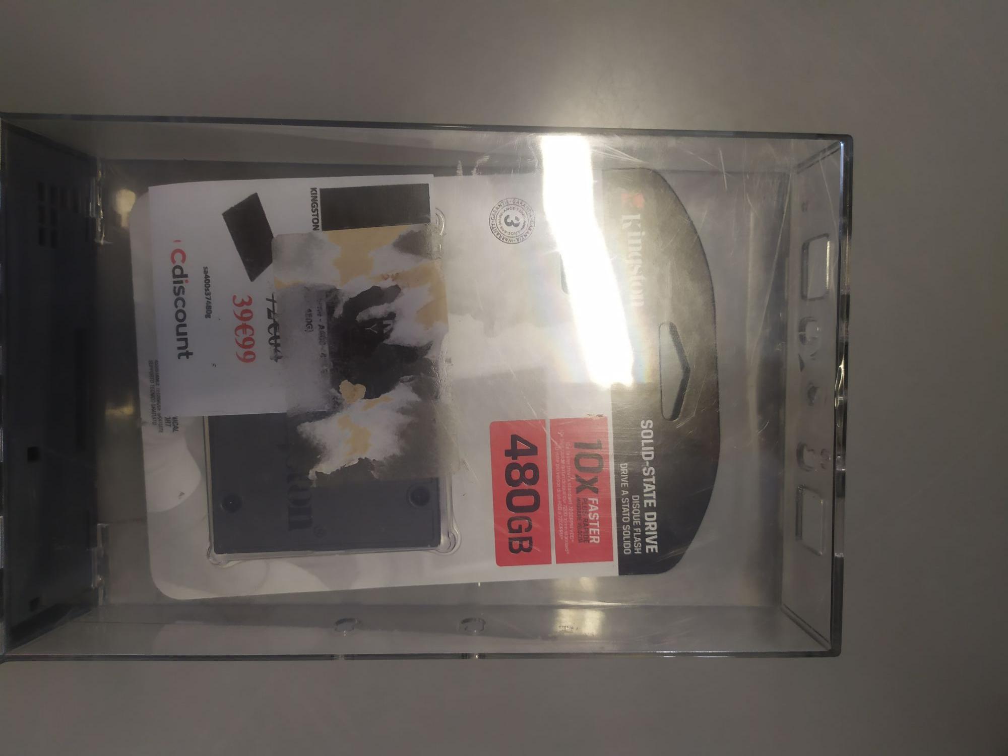 "SSD interne 2.5"" Kingston A400 - 480 Go - Le Bouscat (33)"