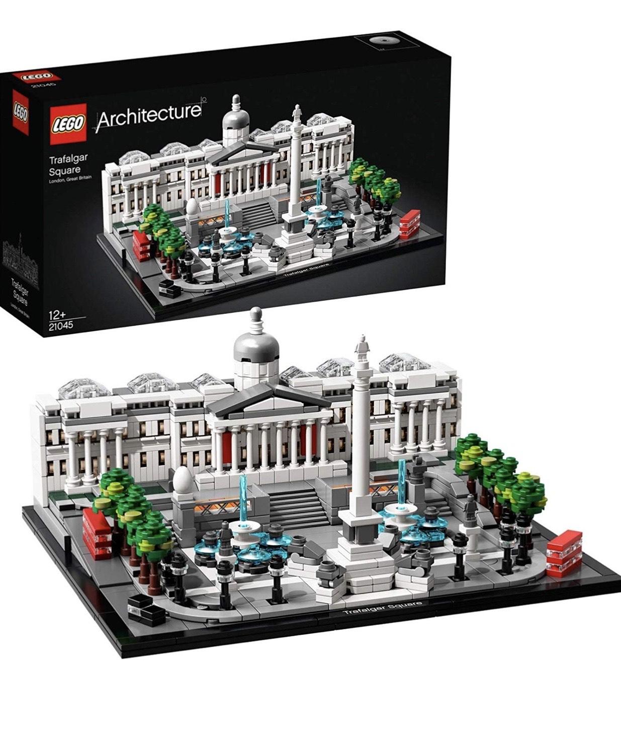 LEGO Architecture 21045 - Trafalgar Square, 1197 Pièces