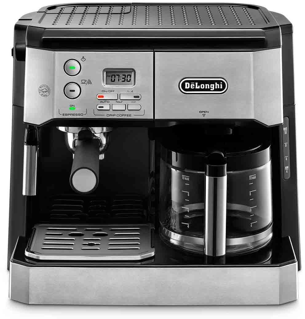 Machine à expresso automatique De'Longhi Combi Espress-Filter Coffee BCO431
