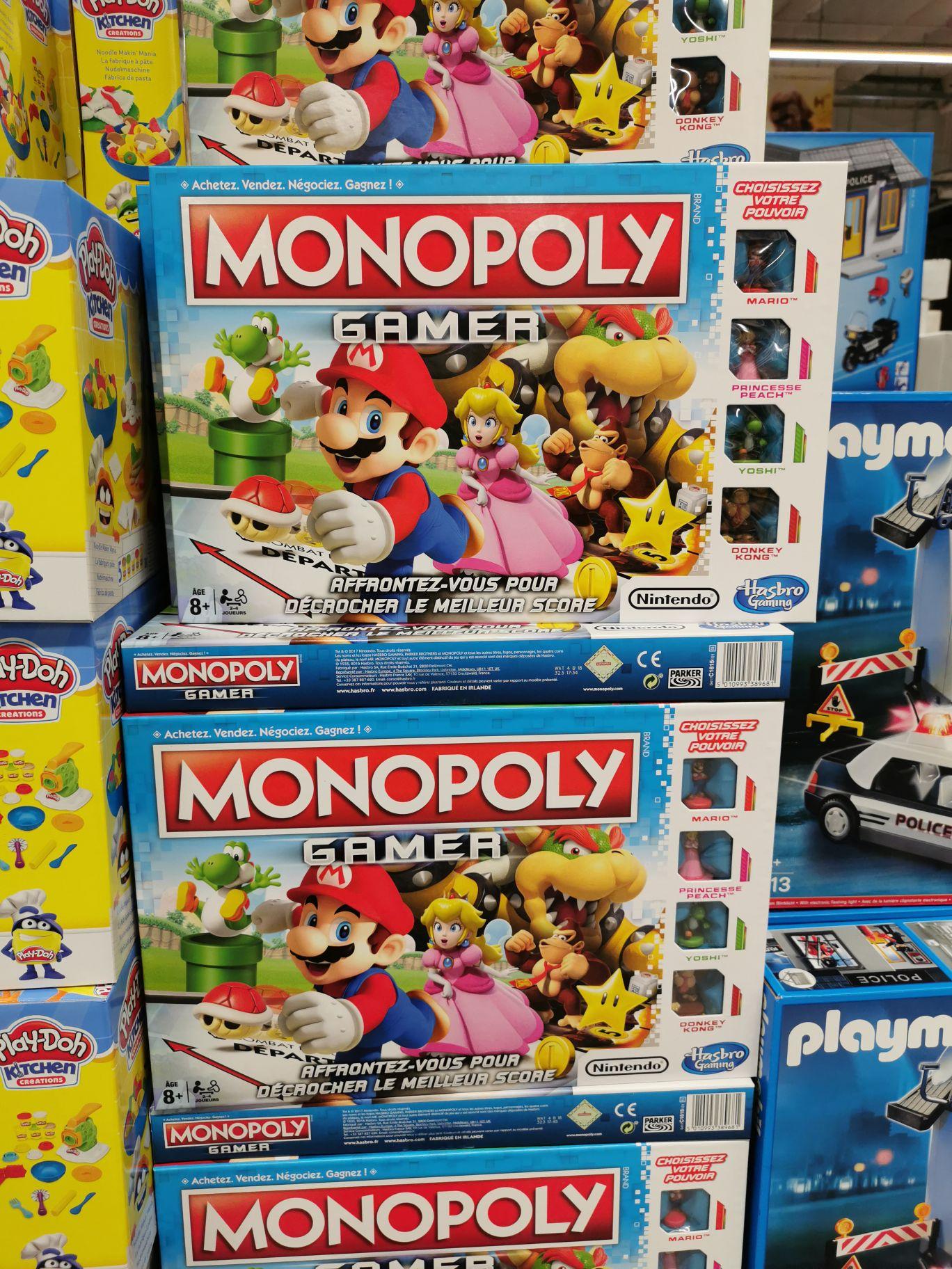 Jeu de société Monopoly Mario Kart - Leclerc de Schiltigheim (67)